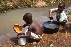 νερό αφρική